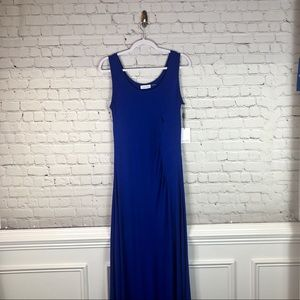 Calvin Klein Royal Blue Long Maxi Dress